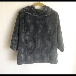 Vine Street Apparel Jackets & Coats - Vine Street Gray Plush Jacket Size XL Unlined